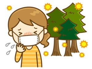 きました!つらい季節が・・・